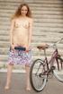 Biker babe Eugena gets naked