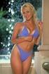 Lyssa Christie pulls off her violet bikini