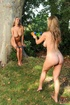 Carol & Jannete playing naked